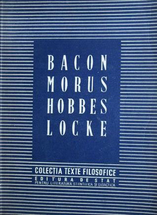 BACON MORUS HOBBES LOCKE