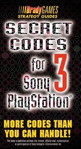 Secret Codes for Sony Playstation