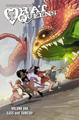 Rat Queens, Vol. 1: Sass & Sorcery (Rat Queens, #1)