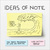 Ideas of Note: One Man's Philosophy of Life on Post-Its