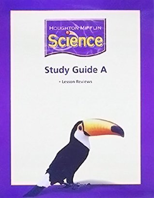 """Houghton Mifflin Science: Study Guide """"A"""" Extra Support BLM/TAE Book Grade 3"""
