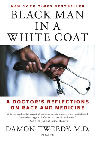 Black doctor examines white gay