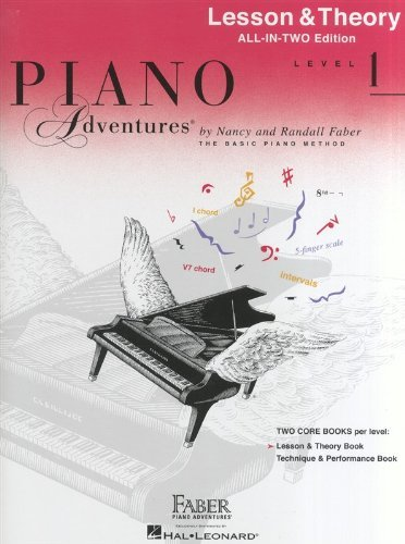 Piano Adventures: Level 1: Lesson and Theory Book