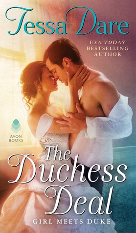 book cover: The Duchess Deal by Tessa Dare