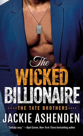 The Wicked Billionaire (Tate Brothers, #2)