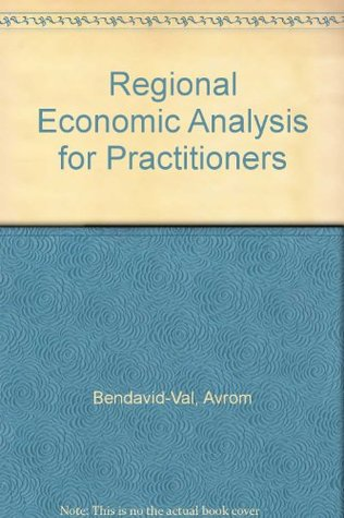 Regional Economic Analysis for Practitioners