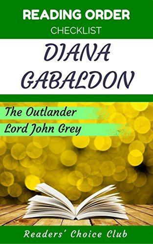 Reading order and checklist: Diana Gabaldon - Series read order: Outlander, Lord John Grey and other standalone books!