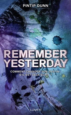 Remember Yesterday by Pintip Dunn