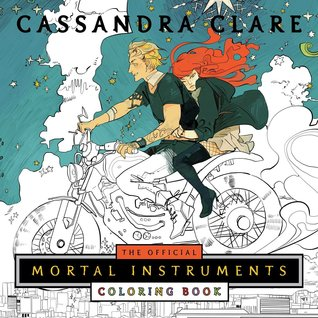 The Official Mortal Instruments Coloring Book