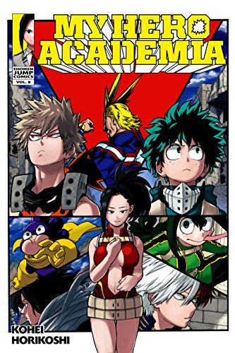 My Hero Academia, Vol. 8: Yaoyorozu Rising