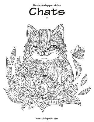 Livre de Coloriage Pour Adultes Chats 2