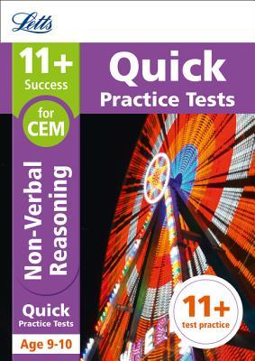 11+ Non-Verbal Reasoning Quick Practice Tests Age 9-10 for the CEM tests (Letts 11+ Success)