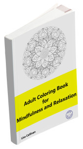 Adult Coloring Book for Mindfulness and Relaxation
