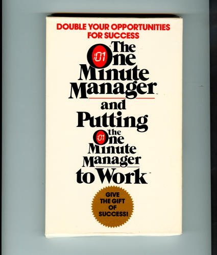 One Minute Manager/Putting the One Minute Manager to Work/Boxed Set