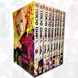 Tokyo Ghoul Volume 1-9 Collection 9 Books Set by Sui Ishida