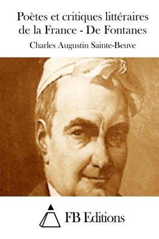 Poètes et critiques littéraires de la France - De Fontanes