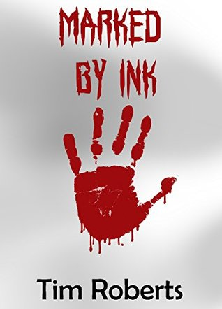 Marked by ink
