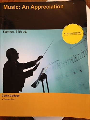 Music: An Appreciation Kamien 11th Ed. Paperback College Textbook w/ Access Code
