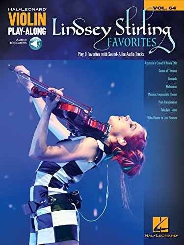 Lindsey Stirling Favorites: Violin Play-Along Volume 64