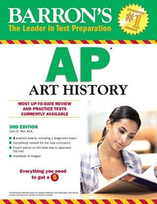 Barron's AP Art History, 3rd edition by John Nici