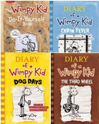 Diary of a wimpy kid 4 book collection by jeff kinney 34727466 solutioingenieria Gallery