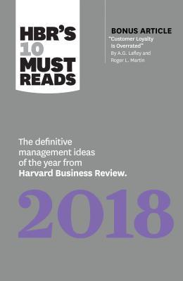 HBR's 10 Must Reads 2018 by Harvard Business Review