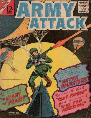 Army Attack: Volume 42: History Comic Books, Comic Book, Ww2 Historical Fiction, WWII Comic, Army Attack