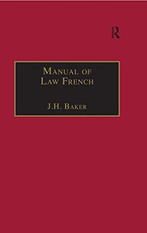 Manual of Law French