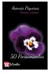 50 Pensamientos. Poemas íntimos