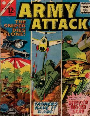 Army Attack: Volume 38: History Comic Books, Comic Book, Ww2 Historical Fiction, WWII Comic, Army Attack