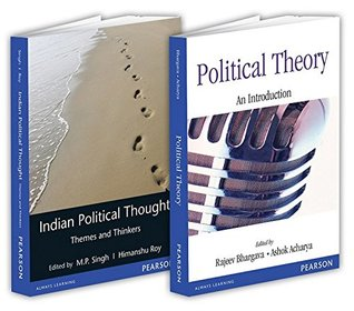 Political Science combo of Political Theory & Indian Political Thought (Set of 2 books)
