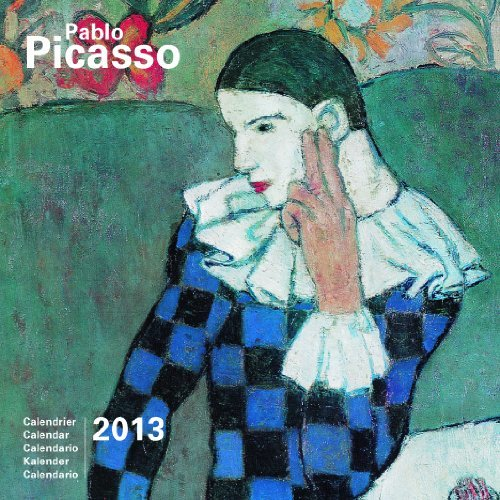 2013 Pablo Picasso 30 x 30 Calendar