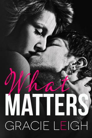 We Can't Wait for You to Check Out What Matters by Gracie Leigh!