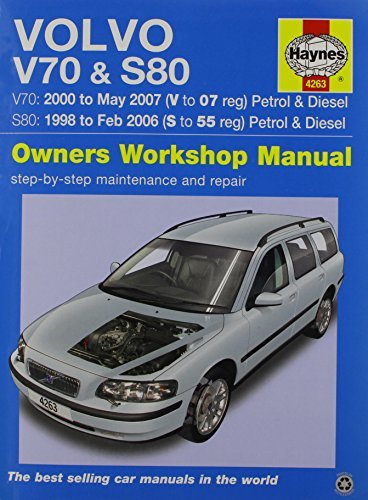 Volvo V70 / S80 Petrol & Diesel (98 - 07) Haynes Repair Manual