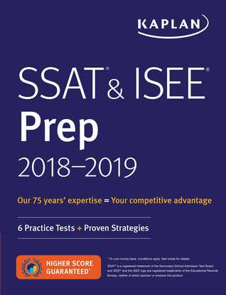 SSAT & ISEE 2018-2019 Strategies, Practice & Review with 6 Practice Tests: For Private and Independent School Admissions