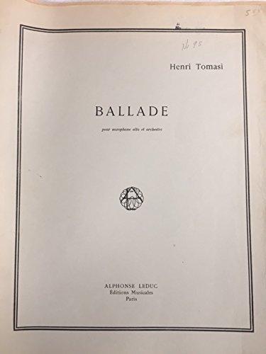 Ballade for Alto Saxophone and Piano