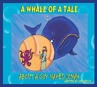 Whale of a Tale Guy Named Jonah, with Book