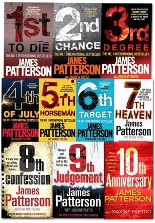 Womens Murder Club Collection By James Patterson 10 Books Set (Books 1 To 10)