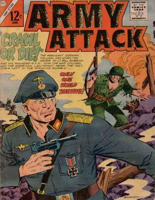 Army Attack: Volume 43 Only One Would Survive!: History Comic Books, Comic Book, Ww2 Historical Fiction, WWII Comic, Army Attack