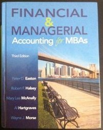 Financial and Managerial Accounting for MBA's