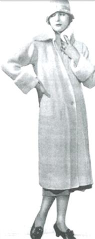 #0622 SEVILLE COAT VINTAGE KNITTING PATTERN