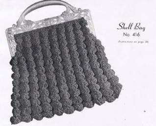 #0737 SHELL BAG VINTAGE CROCHET PATTERN