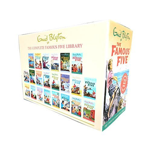 Enid Blyton The Famous Five Collection 22 Books Box Set