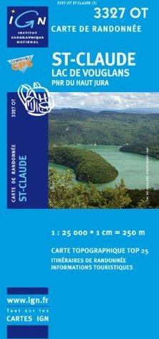 Saint-Claude / Lac de Vouglans / PNR du Haut Jura gps