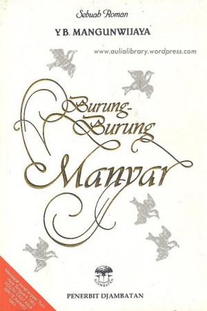 Burung-Burung Manyar by Y.B. Mangunwijaya
