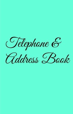 Telephone & Address Book: Tiffany Blue Edition