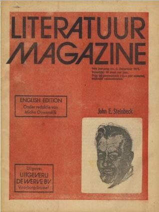 Literatuur magazine nr. 4 Engelse editie John E. Steinbeck (#4)