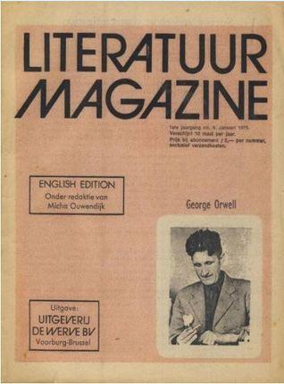 Literatuur magazine nr. 5 Engelse editie George Orwell (#5)