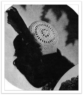 #2471 HITCHCOCK HAT VINTAGE CROCHET PATTERN