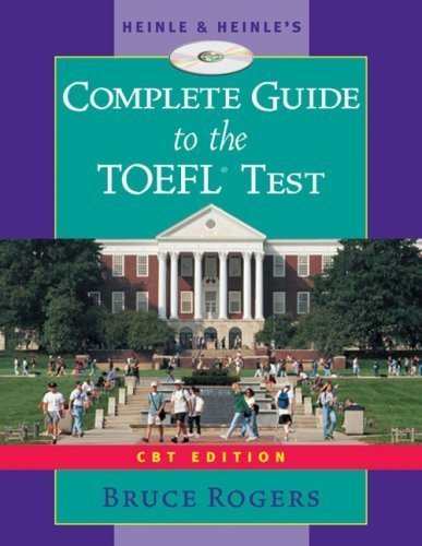 Heinle's Complete Guide to the TOEFL Test, CBT Edition, Text/CD-ROM/Audio Tape Package